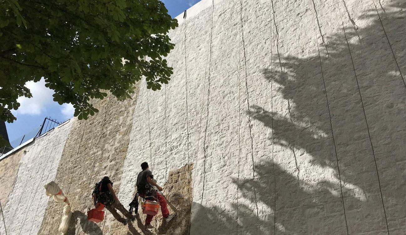 Réfection d'un mur pignon